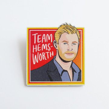 Team Hemsworth Pin