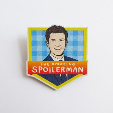 Spoilerman Pin