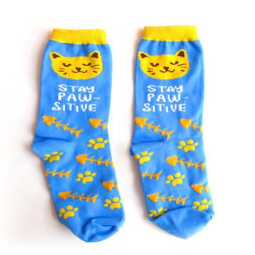 Pawsitive Socks