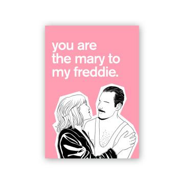 Freddie Mary Valentine Card