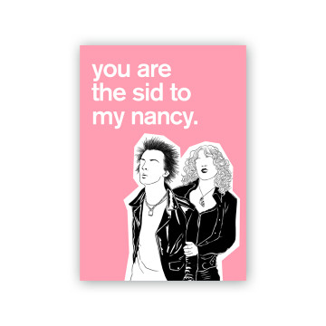 Sid Nancy Valentine Card