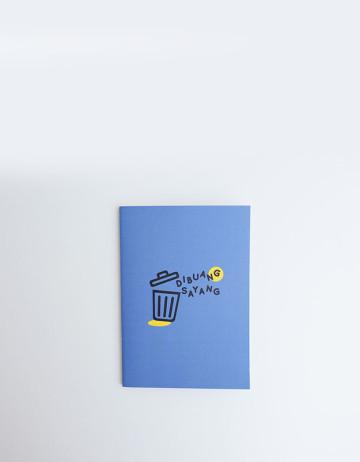 Dibuang Sayang - A5 Notebook image
