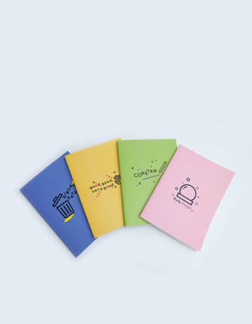 A5 Notebook (set of 4) image