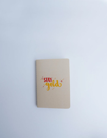 Stay Gold - Pocket Notebook image