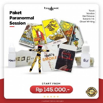 Paket Paranormal Session - Paket alat sulap - Uzop Magic Shop image