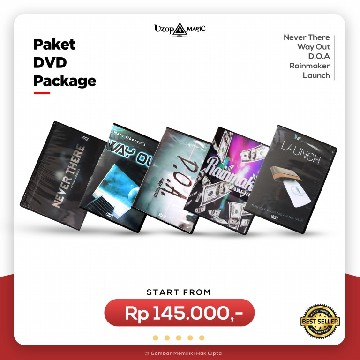 DVD Package - Paket Alat Sulap - Uzop Magic Shop image