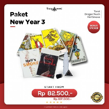 Paket New Year 1 | Paket Alat Sulap | Uzop Magic Shop image