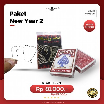 Paket New Year 2 | Paket Alat Sulap | Uzop Magic Shop image