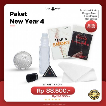 Paket New Year 4 | Paket Alat Sulap | Uzop Magic Shop image