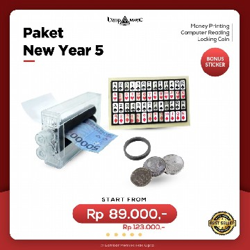 Paket New Year 5 | Paket Alat Sulap | Uzop Magic Shop image