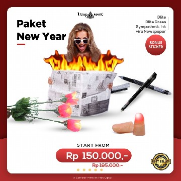 Paket New Year 6 | Paket Alat Sulap | Uzop Magic Shop image