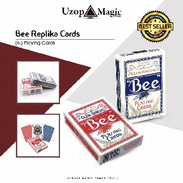 Bee Playing Cards Replika (Deck, Kartu Remi) image