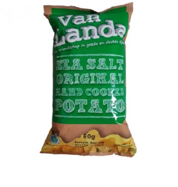 Van Landa SEA SALT ORIGINAL Potato Chips image