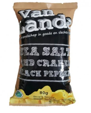 Van Landa SALT AND BLACKPEPPER Potato Chips image