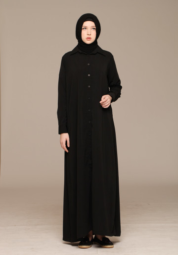 AL JANNAH FLOWER BLACK