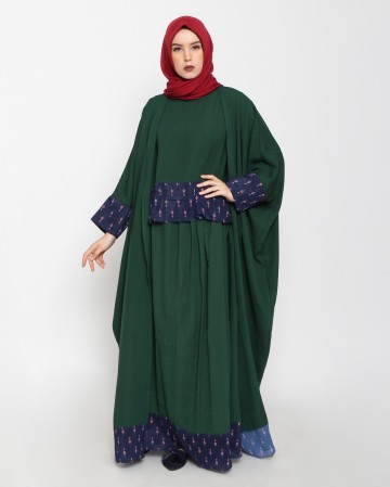SUHAY ABAYA SET (GREEN)