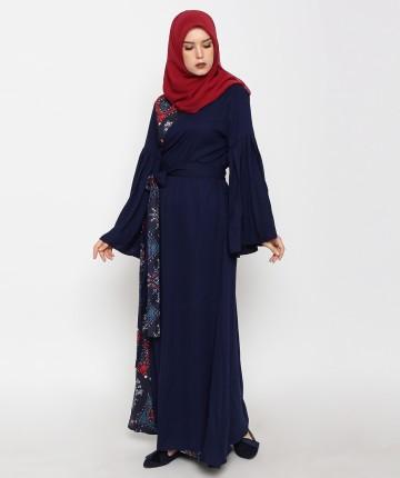 KYNA DRESS (NAVY)