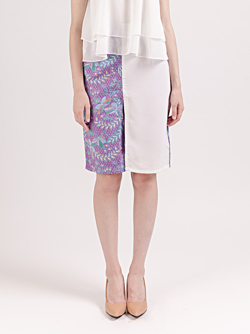 Rue Slit Skirt in Purple image
