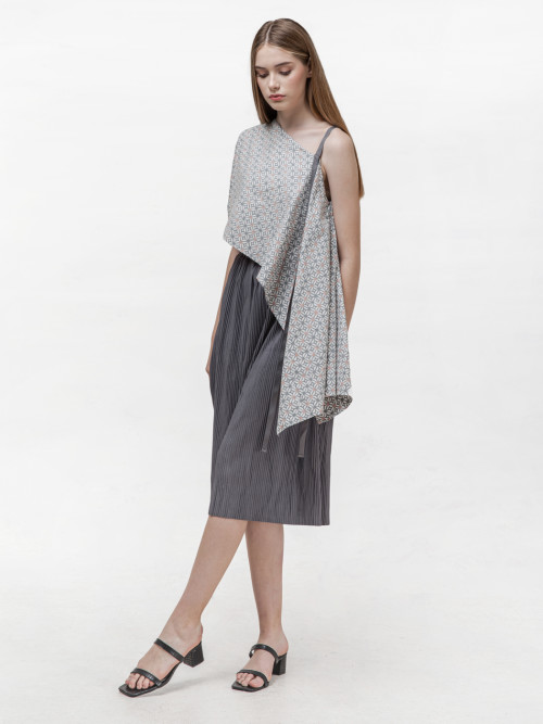 Margot Pleats Set in Grey (BACK-IN-STOCK!) image