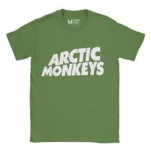 Arctic Monkeys Logo Irish Green