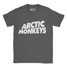 Arctic Monkeys Logo Charcoal