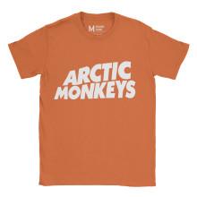 Arctic Monkeys Logo Orange