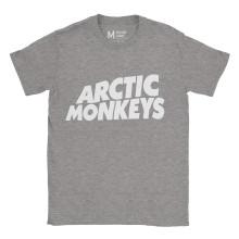 Arctic Monkeys Logo Ash Grey
