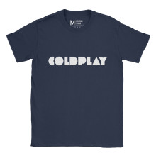 Coldplay Logo Navy