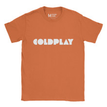 Coldplay Logo Orange