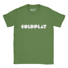 Coldplay Logo Irish Green