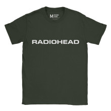Radiohead Logo Forest Green
