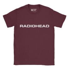 Radiohead Logo Maroon
