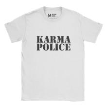 Radiohead Karma Police White