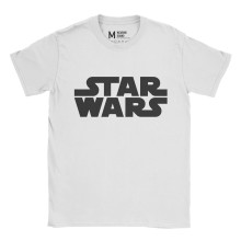 Star Wars Logo White