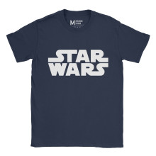 Star Wars Logo Navy