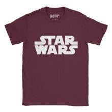 Star Wars Logo Maroon