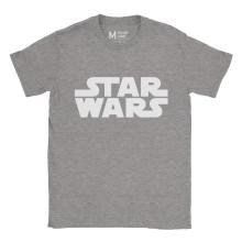 Star Wars Logo Ash Grey