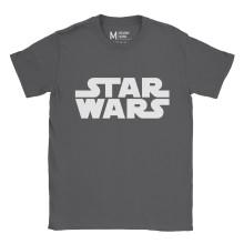 Star Wars Logo Charcoal