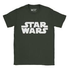 Star Wars Logo Forest Green