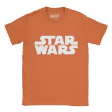 Star Wars Logo Orange