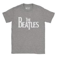 The Beatles Logo Ash Grey