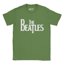 The Beatles Logo Irish Green
