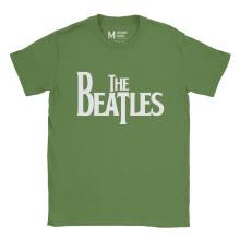 The Beatles Logo Irish Green