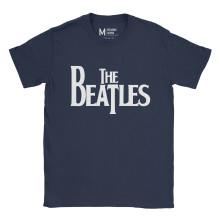 The Beatles Logo Navy