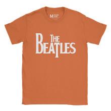 The Beatles Logo Orange