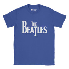 The Beatles Logo Royal Blue