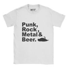 Atticus Metal Punk Rock Beer White