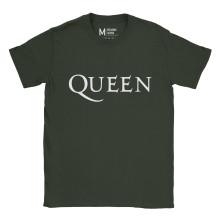 Queen Logo Forest Green