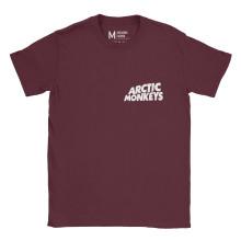 Arctic Monkeys Pocket Logo Maroon