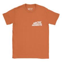 Arctic Monkeys Pocket Logo Orange